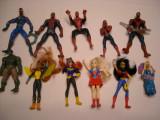 Set 11 figurine supereroi - Spiderman, Hulk