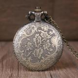 Medalion vintage arbore ceas