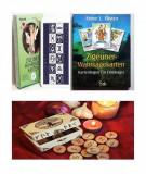 Carti tarot tiganesti gipsy fortune + cartea in limba romana -cadou set rune