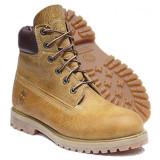 LICHIDARE STOC!Bocanci TIMBERLAND 6 inch Heritage originali noi piele vintage 41, Mustar, Piele naturala