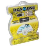 Cablu rca to usb 1.2m + placa sunet