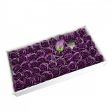 Cumpara ieftin Trandafiri Sapun 5cm Black Purple