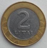 Republica Lituania - 2 Litai 1999