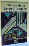 CANTECE DE LA IZVORUL DUNARII, 51 DE POETI GERMANI CONTEMPORANI de MIRCEA VAIDA-VOEVOD , 1991