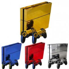 Skin / Sticker GLOSSY Playstation 4 PS4  FAT , DIVERSE CULORI