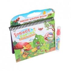 Water Magic- Carte de colorat cu apa: Insecte