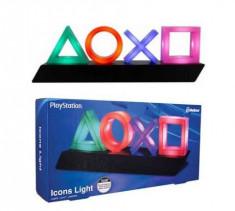 Lampa USB PlayStation Icons foto