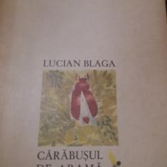 CARABUSUL DE ARAMA LUCIAN BLAGA