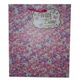 Punga mare pentru cadouri - With Love Floral   Glick
