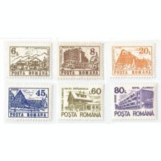 *România, LP 1266/1991, Hoteluri şi cabane (uzuale III), MNH