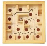 Cumpara ieftin Labirint numerotat cu bila natur