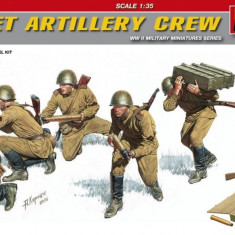 1:35 Soviet Artillery Crew - Special Edition - 5 figures 1:35