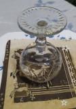 Pahar vechi cristal de coniac