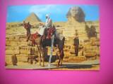 HOPCT 78052 SFINXUL SI PIRAMIDELE-COSTUM BEDUIN  -EGIPT-STAMPILOGRAFIE-CIRCULATA