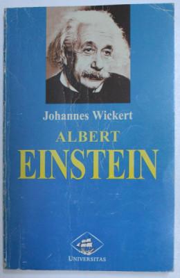 ALBERT EINSTEIN , 1998 ,JOHANNES WICKERT foto
