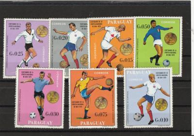 Sport,  fotball medaliati , Paraguay. foto