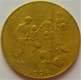 Moneda exotica 10 FRANCI - AFRICA de VEST, anul 1996 *cod 1003 = excelenta