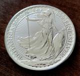 MAREA BRITANIE - 2 Pounds Lire 2020 - Britannia uncie argint 31.1 gr. - 999/1000