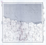 Harta Mangalia 1906 Institutul Geografic al Armatei