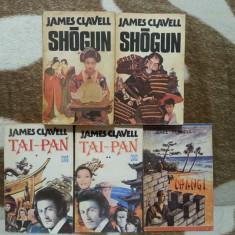 JAMES CLAVELL CARTI (5 VOL)