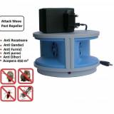 Cumpara ieftin Aparat anti-rozatoare si insecte cu ultrasunete Attack Wave Pest Repeller