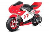 Cumpara ieftin Mini Motocicleta electrica pentru copii NITRO Eco Pocket Bike 1000W Rosu