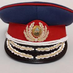 Cascheta, sapca de general de militie RSR