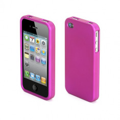 Husa Plastic iPhone 4 Griffin Outfit Ice Roz