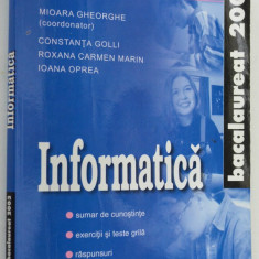 Informatica - Bacalaureat 2003