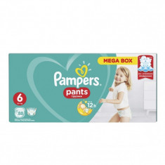 Scutece Pampers Active Baby Pants 6 Mega Box Pack, 88 buc/pachet