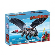HICCUP SI TOOTHLESS, Playmobil