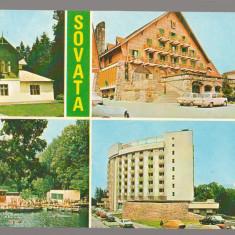 CPI B14576 - CARTE POSTALA - SOVATA. , vila 31, HANUL URSUL NEGRU, ALUNIS
