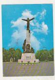 bnk cp Bucuresti - Statuia aviatorilor - circulata - marca fixa