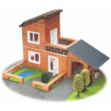 Joc de Constructie Vila cu Garaj