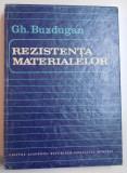 REZISTENTA MATERIALELOR de GH. BUZDUGAN , 1986