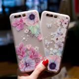 Husa de telefon cu fluture si floare de trandafir, pentru Huawei P10/p10lite/p8lite/p9lite