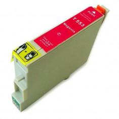 Cartus cerneala compatibil Epson T0553 Magenta