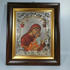 Icoana Maica Domului si Iisus noua in cutie