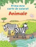 Animale. Prima mea carte de colorat