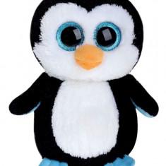 Jucarie de plus TY 24 cm Boos - Pinguinul Waddles