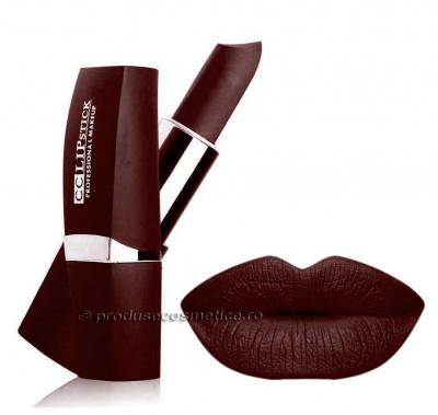 Ruj Mat Profesional Kiss Beauty CC Lips 22 Rich Wine foto