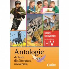 Antologie de texte din literatura universala - Daniela Besliu, Alexandrina Dumitru