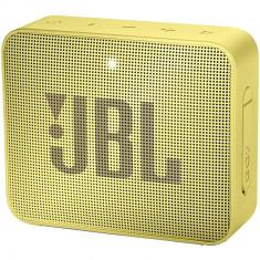 Boxa Portabila Go 2 Galben, JBL