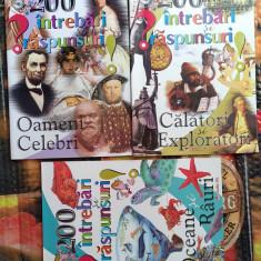 Carti de povesti pentru copii  cultura generala 200 Intrebari si Raspunsuri