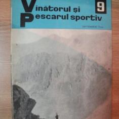 REVISTA ''VANATORUL SI PESCARUL SPORTIV'', NR. 9 SEPTEMBRIE 1966