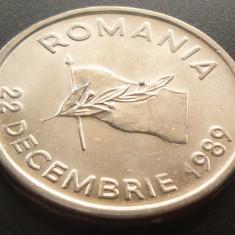 Moneda 10 Lei - ROMANIA, anul 1992 *cod 3418 --- UNC