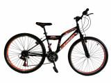 """Bicicleta MTB Vision Steel Man Culoare Negru/Portocaliu Roata 26"""" OtelPB Cod:202605000302"""