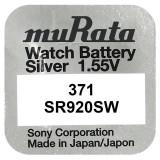 Baterie de ceas Murata 371 AG6 SR920SW 1.55V 1Bucata /Set