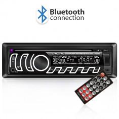 CD MP3 player auto cu BLUETOOTH butoane in 7 culori diferite FM USB card SD AUX IN