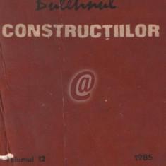 Buletinul constructiilor, vol. 12 (1985)